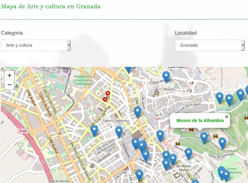 Granadaclick.es mapa